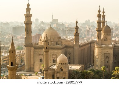 One of the many grand mosques found in capital city of Egypt, Cairo