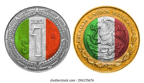 Mexican Coin Images, Stock Photos & Vectors | Shutterstock