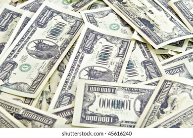 One million United States  dollars souvenir banknotes