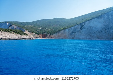 One of the most beautiful beaches of Greece- Porto Katsiki in Lefkada.Ionian islands at summer.