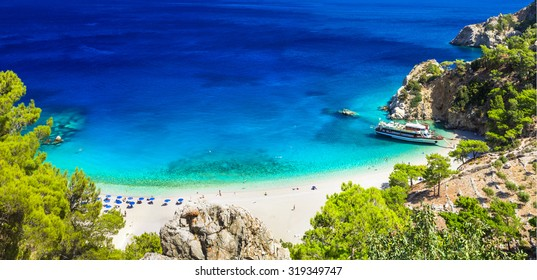 one of the most beautiful beaches of Greece - Apella in Karpatho