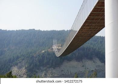 One of the most dangerous bridges in the world. (Türkiye, Kahramanmaraş, Andırın, Asma Köprü )