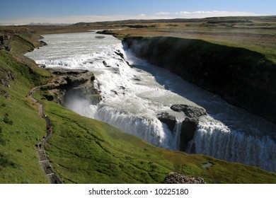 one of the most famous waterfalls in Iceland