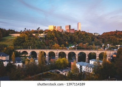 One of the most iconic view of Luxembourg city