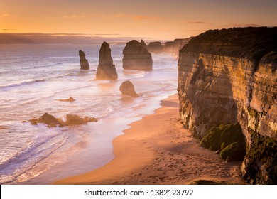 One of the most recognisable coastlines in Australia if not the world, the 12 Apostles in Victoria.