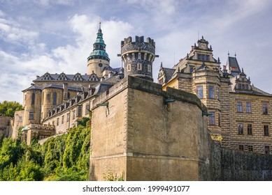 One of the most visited tourist attraction in Czech Republic - castle in Frydlant city - Shutterstock ID 1999491077