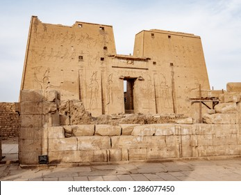 One of the most well preserved ancient temples in Egypt the Edfu Temple of Horus remains an important attraction for tourists