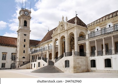 One of the oldest buildings in the University of Coimbra, Portugal