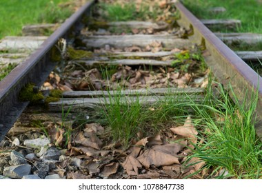 One part of an abandoned railway