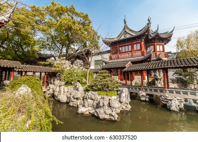 One of the pavilions of the Yuyuan Garden, Shanghai, China