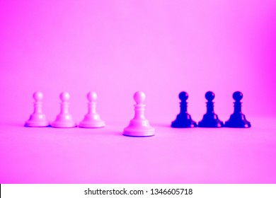 one pawn is ahead of the pawn group. concept: be ahead.