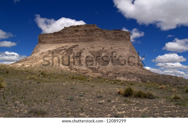 One of the Pawnee Buttes of the Eastern Colorado plains.