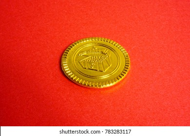 One piece of gold coin