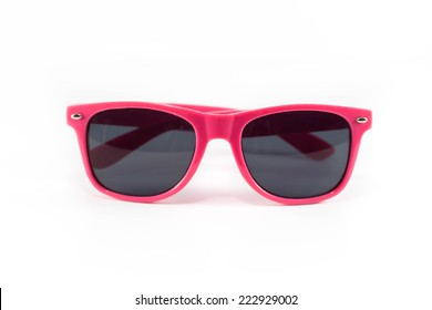 One pink sunglasses The pink frame