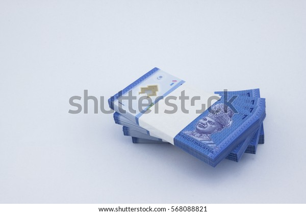 One Ringgit Malaysia currency.