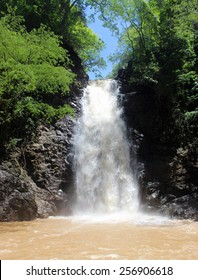One of the series of cascading waterfalls in Montezuma, Costa Rica
