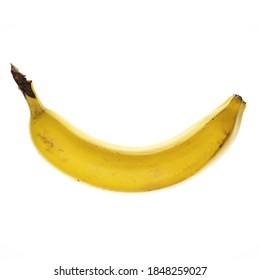 One single curved banana perfect for the banana split