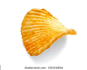 One slice chips with red pepper