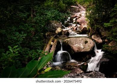 One of the Slovak waterfalls. - Shutterstock ID 2026475492