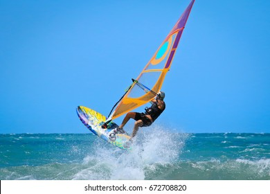 one sportman windsurfer