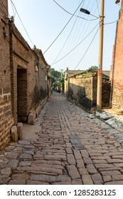 One of the streets of the village of Zhangbi Cun, near Pingyao, China, famous for it's underground fortress which is the oldest and longest network of tunnels of all of China