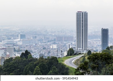 One of the tallest building in Bogota, Colombia