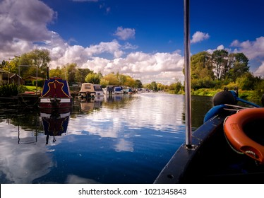 One of the things to try while being in Peterborough is a boat ride in the river Nene