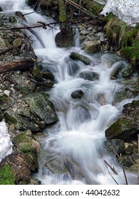 One of three waterfalls, which can be found on the way to Morskie Oko in the Tatra National Park
