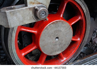 one wheel of engine