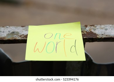 one world message