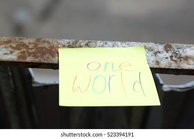 one world message
