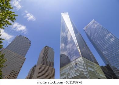 One World Trade Center Memorial Plaza, Manhattan, New York City, U.S.
