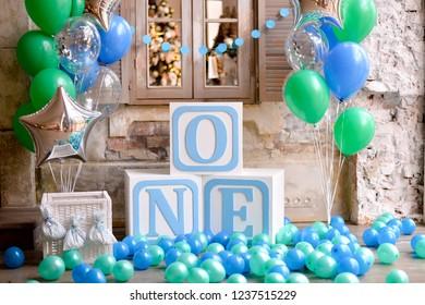 One Year Birthday Decorations Children First