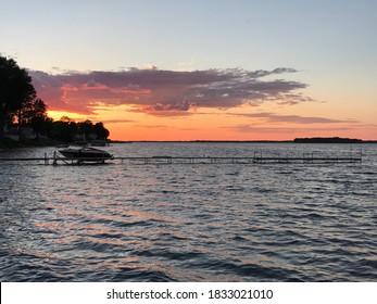 Oneida Lake In Upstate NY