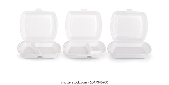 One-time container for delivery menu. The template to insert.