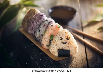 Onigiri, Japanese food