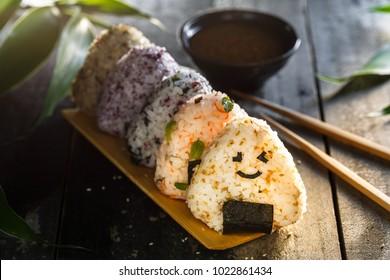 Onigiri, traditional Japanese Rice Balls