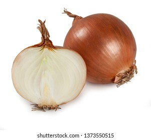 """Onion - """"Cipolla"""" Isolated on White Background – Italian Food"""