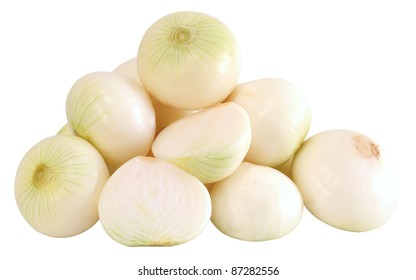 Onion. Isolated