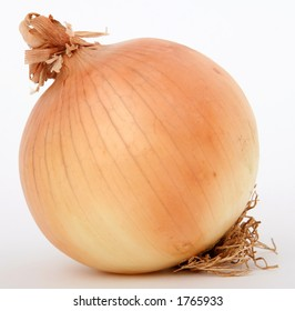 Onion isolated on white,