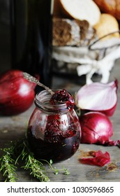 onion marmalade (Onion confiture)