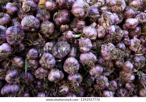 Onions being sold at street market