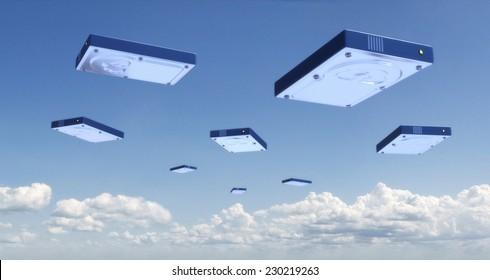 Online Backup Hard Disk Clouds