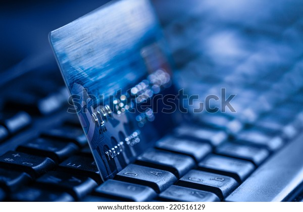 Online banking and bank transactions with credit card