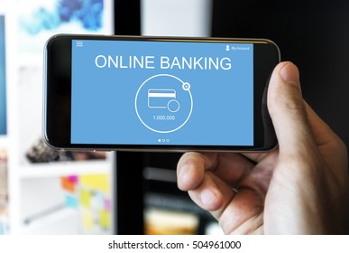 Online Banking Financial Payment Concept