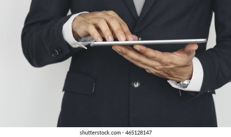 Online Business Connection Internet Contemporary Concept
