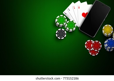 Gambling on mobile phones