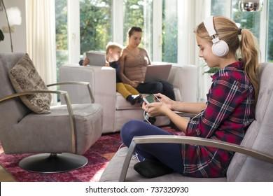 Online-Familie