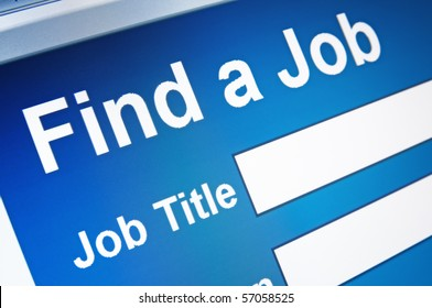 Online job searching.