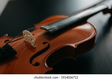 online learning at home on the violin